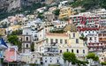 General view of Positano Town in Naples, Italy Royalty Free Stock Photo