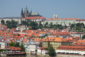 General view of the prague castle all potential trademarks are removed czech republic Royalty Free Stock Photo