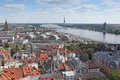 Title: The general view of Riga