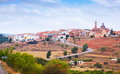 General view of sarrion in province of teruel aragon spain Royalty Free Stock Image