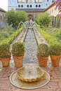 Generalife gardens, alhambra, spain Royalty Free Stock Photo