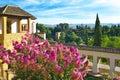 Generalife Gardens. Royalty Free Stock Photo