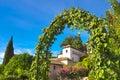 Generalife Gardens in summer. Royalty Free Stock Photo