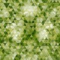 Computer generated abstract green triangles geometrical background