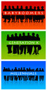 Generations overview of different babyboomers generation x and millennials Royalty Free Stock Image