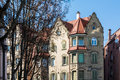 Generic European Architecture German Apartment Building Old Clas Royalty Free Stock Photo
