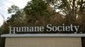 Humane Society Sign Royalty Free Stock Photo