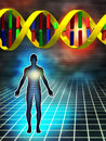 Genetic code Royalty Free Stock Photography