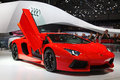 Geneva 81th International Motor Show Royalty Free Stock Images