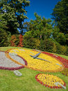 Geneva Flower Clock Stock Image
