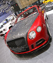 Geneva march red black bentley continental mansory sanguis display st international motor show palexpo geneva march geneva Royalty Free Stock Photo