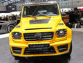 Geneva march yellow mercedes g g amg mansory gronos display st international motor show palexpo geneva march geneva switzerland Stock Images