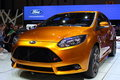 Geneva Motor Show 2011 – FORD Focus ST Stock Photos