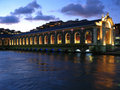Geneva opera switzerland water 免版税库存照片