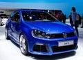 Genf 2012 - Volkswagen-Golf R Stockfotografie