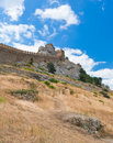 Genoa fortress in Sudak Stock Photos