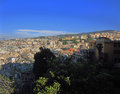 Genoa italy view of in Royalty Free Stock Images