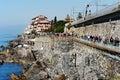 Genoa Nervi, Italy Royalty Free Stock Photo