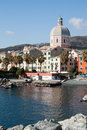 Genoa - Pegli seafront Royalty Free Stock Images