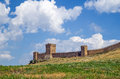 Genoese fortress crimea sudak see my other works in portfolio Royalty Free Stock Photos