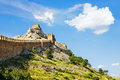 Genoese fortress in crimea ukraine Royalty Free Stock Photo