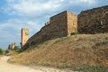 Genoese fortress Royalty Free Stock Photo