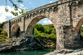 Genovese Bridge Royalty Free Stock Photo