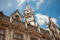 Gent ancient building ornate in belgium against the sky Royalty Free Stock Photo