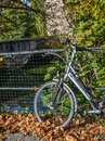 stock image of  A bicycle parking in the center of Gent, Belgium