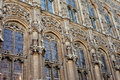 Gent cathedral windows close up of of Royalty Free Stock Photos