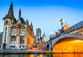 Gent, Flanders, Belgium. Royalty Free Stock Photo