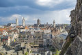 Gent, old town in Belgium Royalty Free Stock Photo
