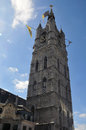 Gent tower medieval of belgium Royalty Free Stock Photo