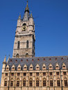 Gent towna hall in belgium Royalty Free Stock Images