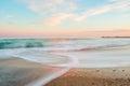 Gentle evening sea