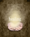 Gentle Healing Words Royalty Free Stock Photo