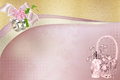 Gentle wedding background for frames Royalty Free Stock Photos