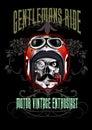 Gentlemans ride skull