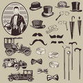 Gentlemen's Accessories and Old Cars