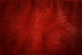 Genuine red leather background, pattern, texture. Royalty Free Stock Photo