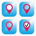 Geo tag icon