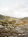 Geo thermal south iceland geiser in geothermal area of raykjavik Stock Photography