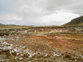 Geo thermal south iceland geiser in geothermal area of raykjavik Stock Photo