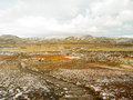 Geo thermal south iceland geiser in geothermal area of raykjavik Royalty Free Stock Photography
