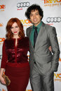 Geoffrey Arend, Christina Hendricks Royalty Free Stock Photo