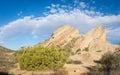 Geologic Desert Rock Formations Royalty Free Stock Photo