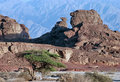 Geological formations at Timna park, Israel Stock Photo