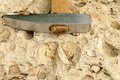 Geological hammer Royalty Free Stock Photo