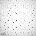 Geometric Abstract Background With Connected Line And Dots Patterns.