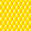 Geometric abstract pattern of hexagons.